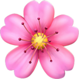 Flor emoji